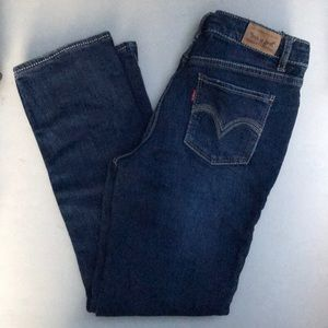 Levi's girls skinny jeans size 10 1/2 plus